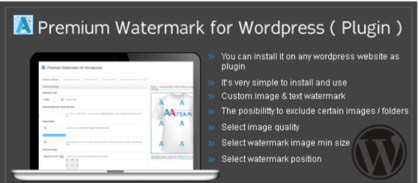 плагин Watermark for WordPress