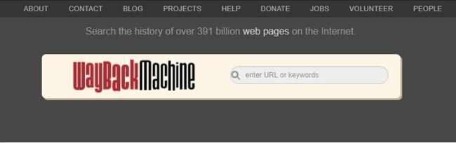 Сайт вебархива