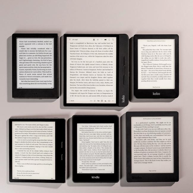 Читалки электронных книг
