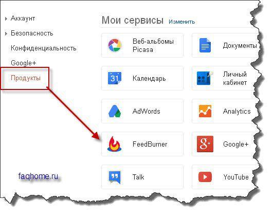 Продукты Гугл