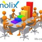 Заработок на рекламной строчке Nolix