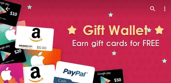 приложения для андроид Giff Wallet