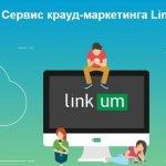 Linkum — партнерская программа по заработку на крауд ссылках.