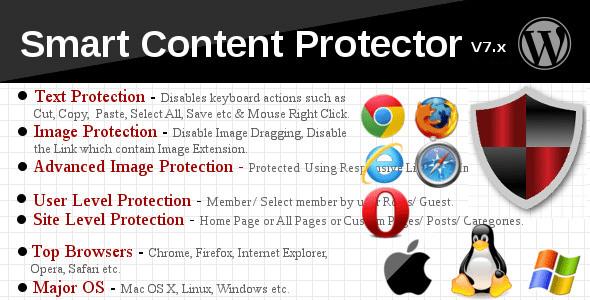 плагин Smart Content Protector