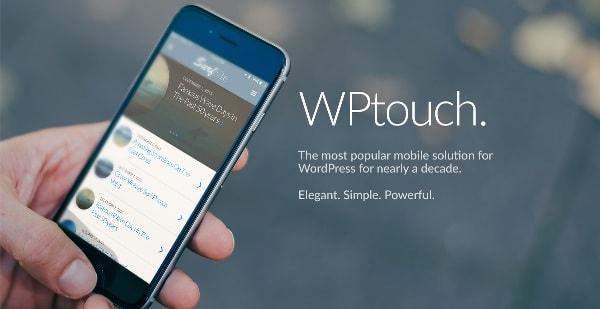 еще один мобильный плагин WPTouch Mobile Plugin